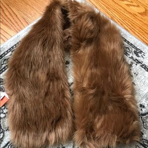 Artificial neck Fur scarf 🧣